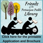 Friends of the Library Printable Application and Brochure